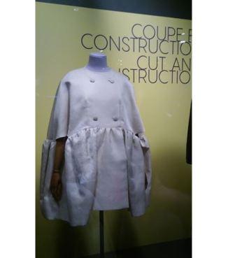 Balenciaga_photo robe courte froncée
