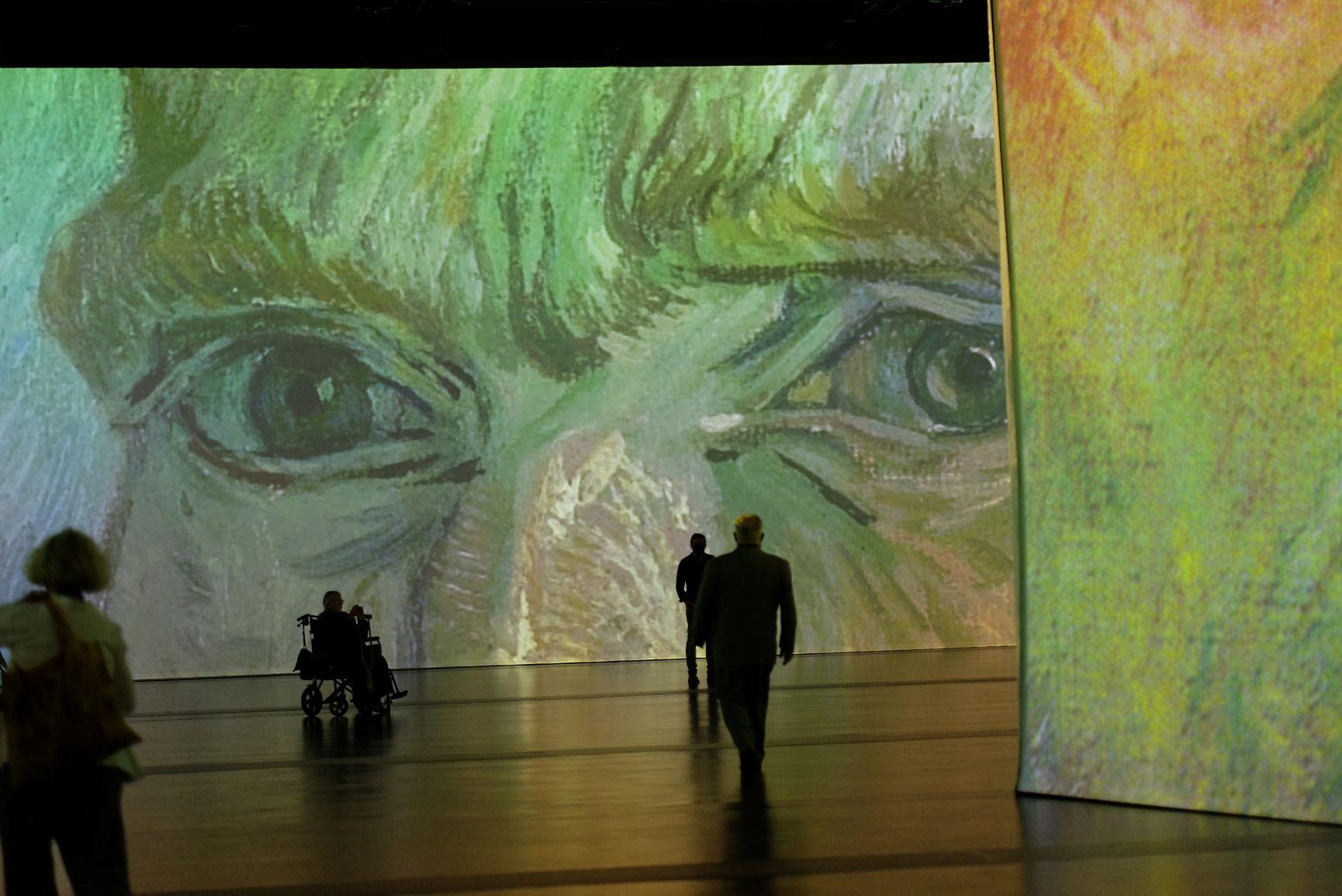Yeux Van Gogh